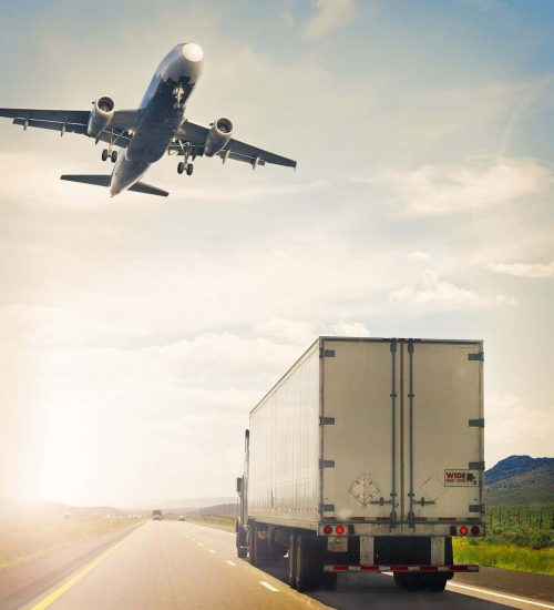 Transportation- Truck and Airplane